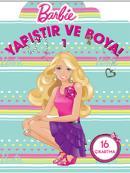 Barbie Yapıştır ve Boya 1
