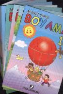 Renkli Süper Boyama (10 Kitap Takım)