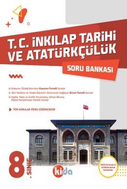 Kida 8. Sınıf T.C. İnkılap Tarihi ve Atatürkçülük Soru Bankası